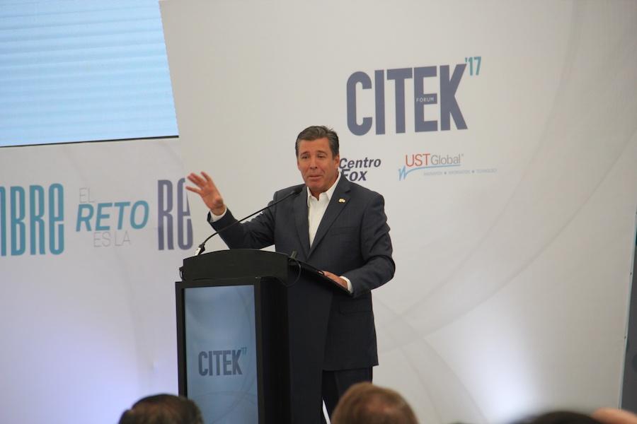 Miguel Márquez, gobernador en CITEK Forum