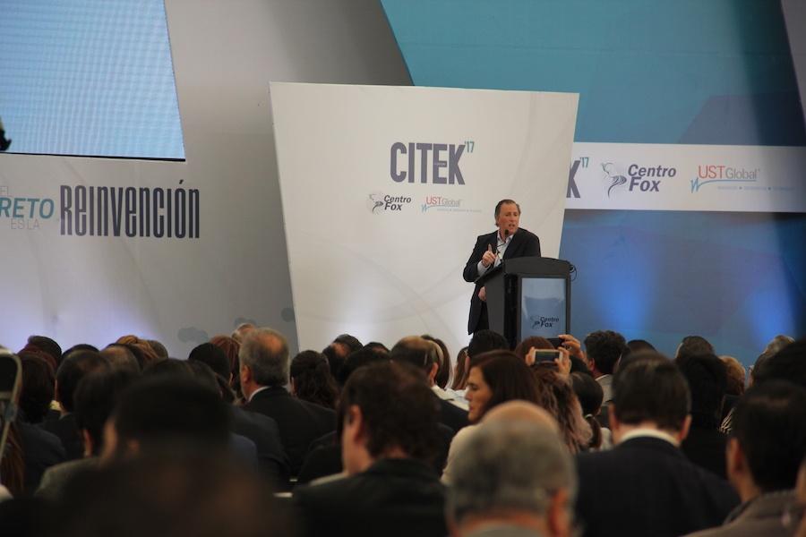 José Antonio Meade en CITEK Forum