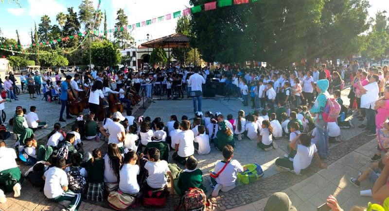 Concierto de la Orquesta de Centro Fox en San Cristóbal