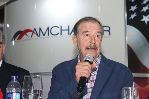 Vicente Fox en AMCHAMDR