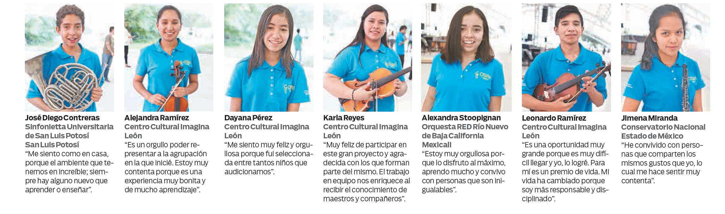 OSIM Centro Fox Orquesta Infantil de México
