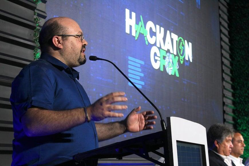Raul Martin Campus Party en Hackaton CFOX